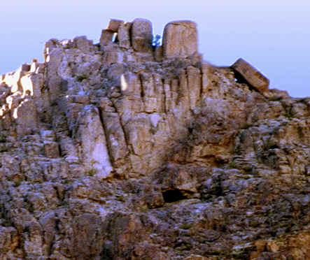 The Split Rock At Horeb